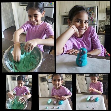 Aarya playdough