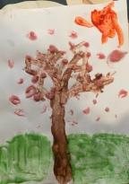 Arjun's spring tree